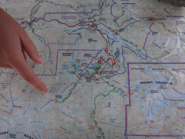 Ptarmigan Ridge Trail, Mt Baker – WA   \